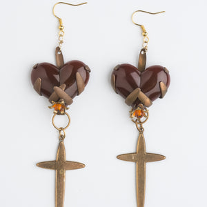The Sacred Truth about Vintage Love Earrings by Ghost and Lola
