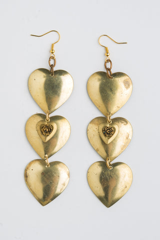 Love Whispers earrings by Ghost and Lola a special gift for your Valentine