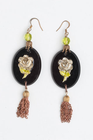 Vintage Bohemian Jewellery Design | Statement earrings with Tassel