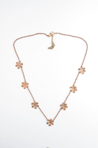 Daisy Jewellery| Vintage Copper Necklace | Bohemian style