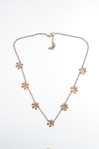 Vintage Flower Necklace | Statement Jewellery | Bohemian Style
