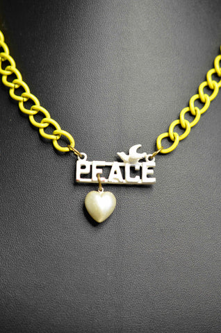 Ghost and Lola Peace Necklace