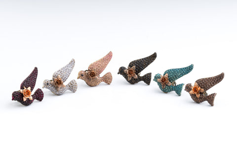 Skydancer Rings by Ghost and Lola Vintage Bird Rings Boho luxe jewelry