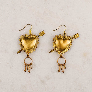 Keys to my Heart Earrings