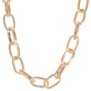 Classic Chunky Chain Link Necklace