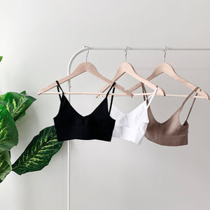 llellie low back seamless bralette trio bundle