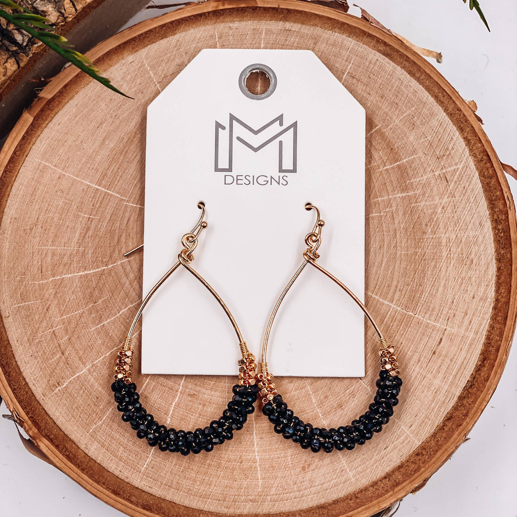 Ronan Earrings - Black