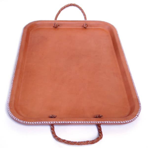 Natural Leather Tray