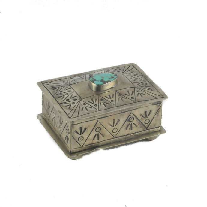 Stamped Silver Box