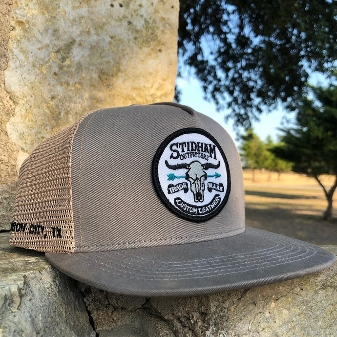Stidham Caps - Grey