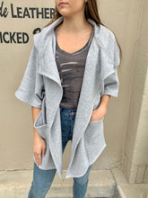Load image into Gallery viewer, Loft Fleece Oversize Cardigan