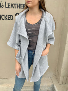 Loft Fleece Oversize Cardigan