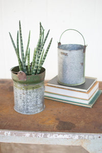 Reclaimed Ammunition Canister Bucket