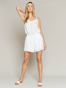Threadbare Shorts - White