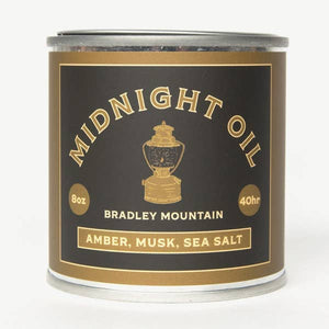 Midnight Oil Candle