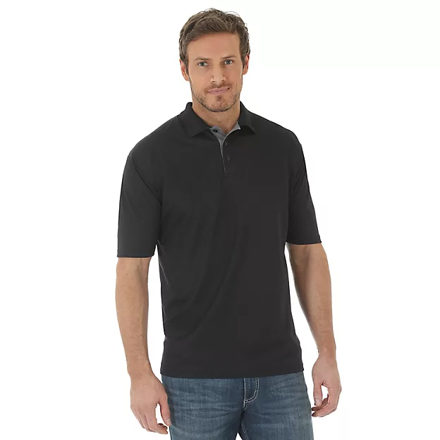 Wrangler Polo - Black