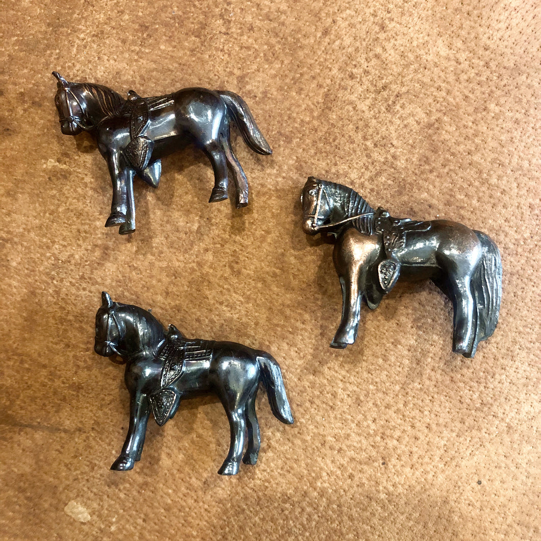 Mini Brass Horse