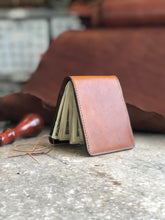 Load image into Gallery viewer, Plain Brown Front Pocket Wallet
