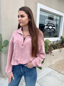 Dusty Pink Pull Over