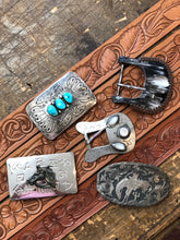 Load image into Gallery viewer, Turquoise stone buckle