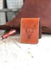 Load image into Gallery viewer, Bison Skull wallet