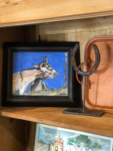 Oil Painting - Burros