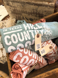 Hill Country Cool in Dusty Blue