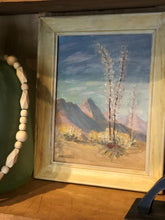 Load image into Gallery viewer, Vintage Southwest Sotol Oil Painting