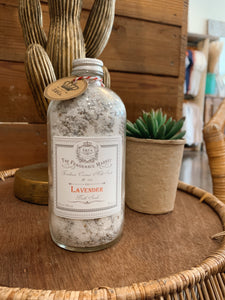 Lavender Coconut Milk Soak + Bath Salts