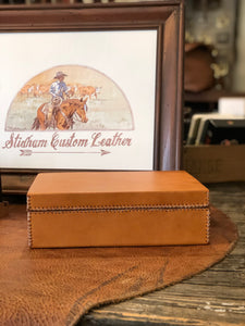Natural Leather Box