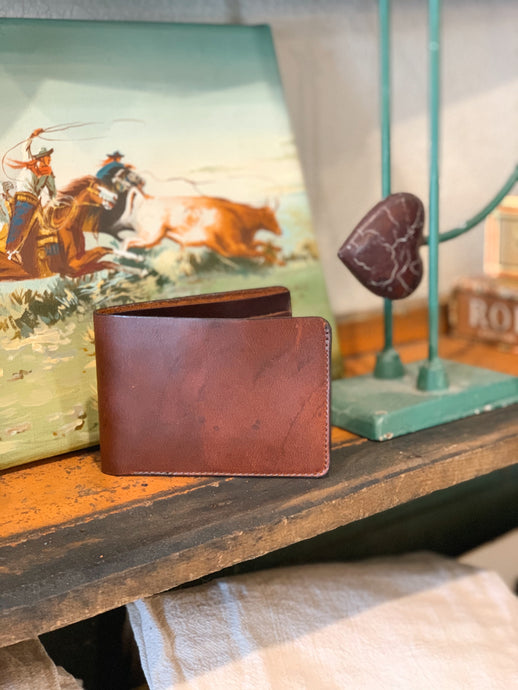 Horween Leather Bifold Wallet