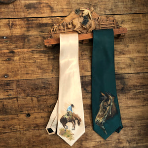 Bucking Horse Scarf or Tie Rack