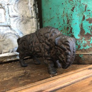 Cast Iron Buffalo