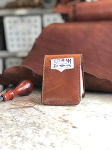 Plain Brown Front Pocket Wallet