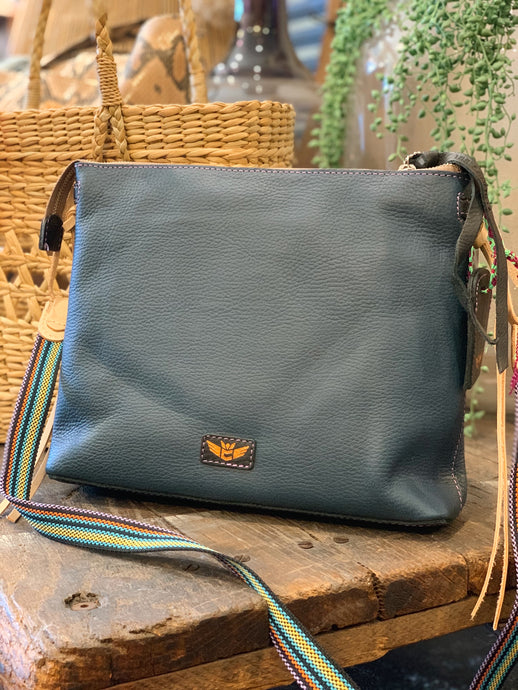 Downtown Crossbody- Adelita Navy