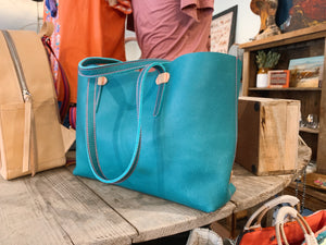 Breezy East West Tote, Guadalupe Turquoise
