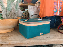 Load image into Gallery viewer, Train Case, Guadalupe Turquoise