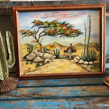 Load image into Gallery viewer, Burro in the Desert Scene