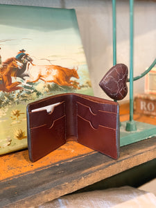 Floral Tooled Bifold Wallet