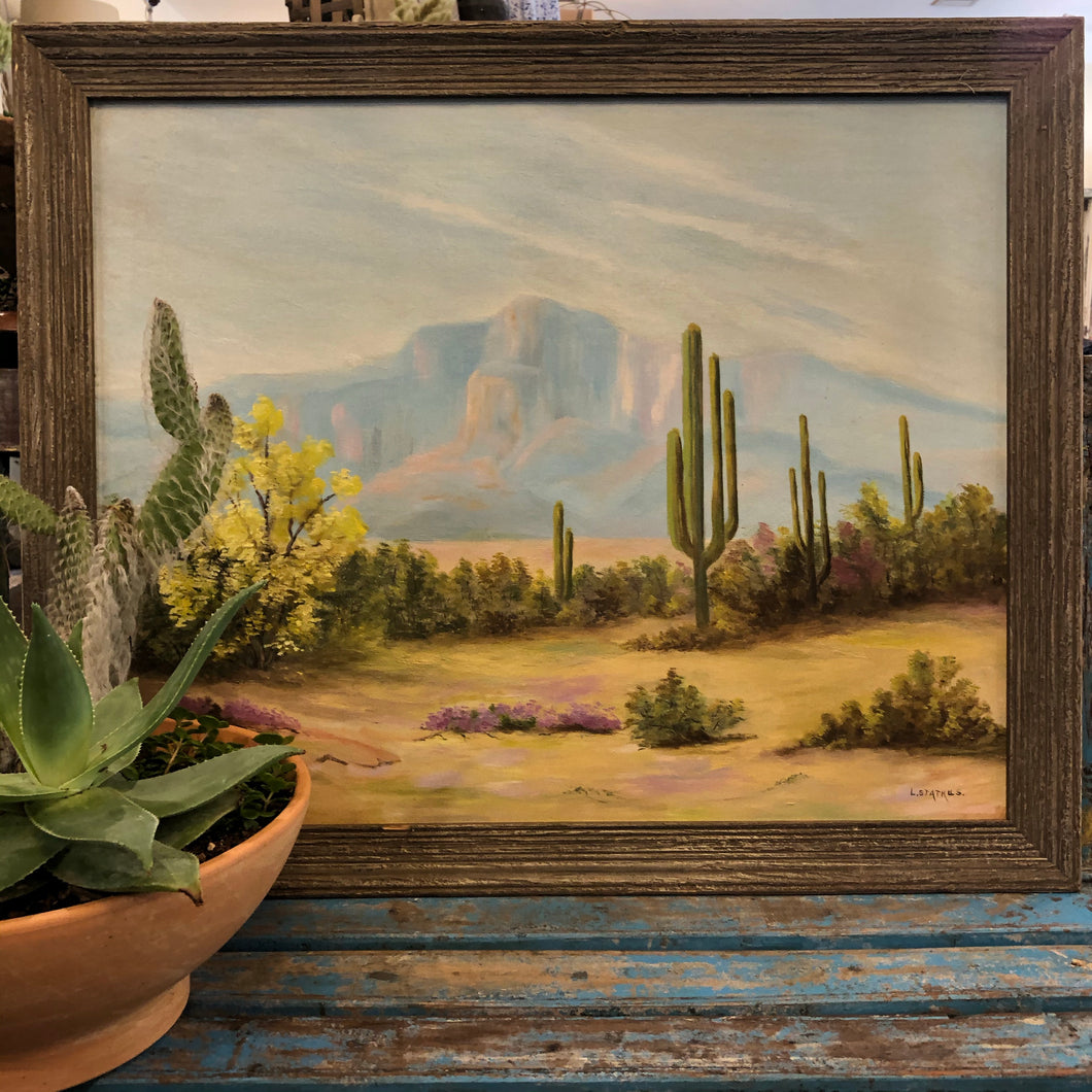 Oil Painting Big Desert