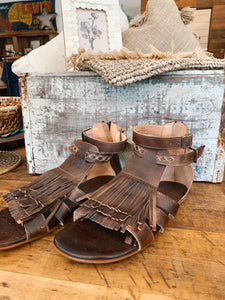 Bed|Stü Brown Sandals