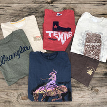 Load image into Gallery viewer, Red Wrangler Texas Tee