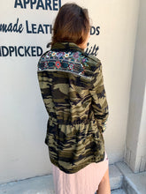 Load image into Gallery viewer, Raquel Drawstring Military Coat