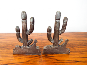 Cactus Bookends