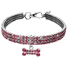 Captivating Crystal Dog Collar-21.99-ADJUSTABLE, COLLAR, DOG, dog accessories