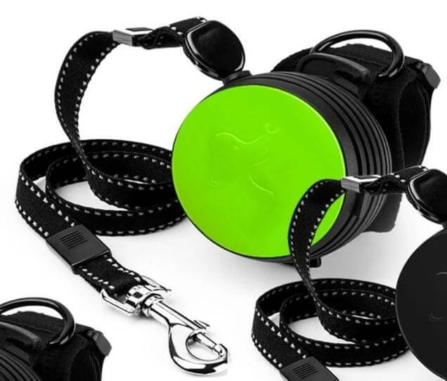 Wrist Strap Retractable Dog Leash Adjustable 3M