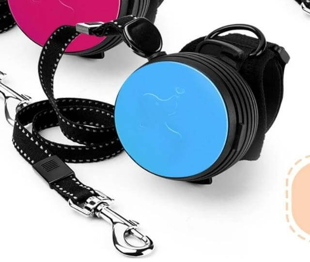 Wrist Strap Retractable Dog Leash - 33.03 - Retractable Dog Leash, Pet Traction Rope, Convenient Pet Traction Rope