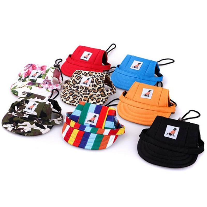 Sun Hat Pet Dog - from 7.93 - Pets Summer Print Cap, Dog Caps Small Puppy, Dog Baseball Visor, Accessories Sun Bonnet Cap