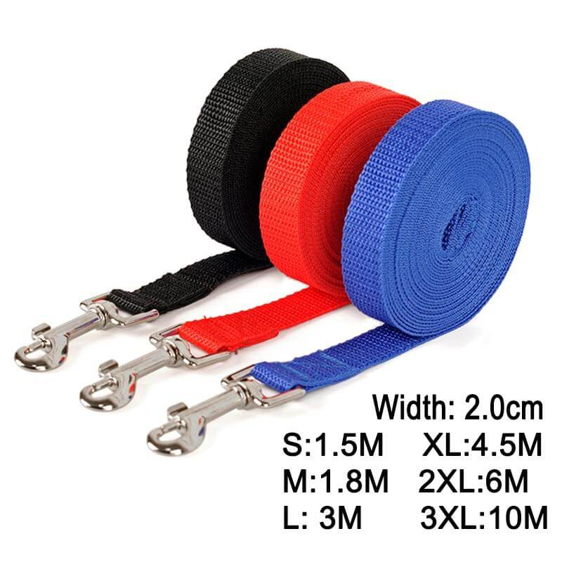 Nylon Dog Training Leashes Leader Rope