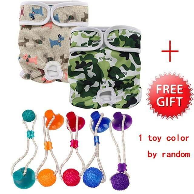 Washable Dog Shorts, From 38.97 - Reusable Washable Dog Shorts, Doggie Diaper, Belly Band Strap